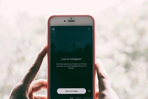 Instagram, Application, Phone, Apple, Iphone, Live