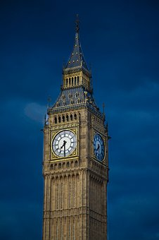 Architecture, Infrastructure, Structure, Tower, Clock