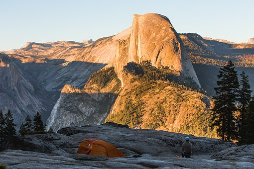 Nature, Landscape, Tent, Camp, Climb, Hike, Trek