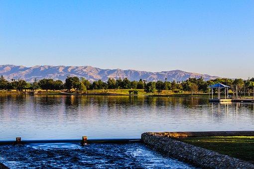 Balboa Lake, Water, Lake, California, Outdoor, Summer