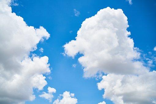Cloud, Blue, Sky, Clouds, White, White Clouds, Nature