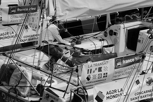 People, Man, Boat, Guy, Speed, Race, Sports, Sailing