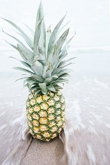 Pineapple, Dessert, Appetizer, Fruit, Juice, Crop