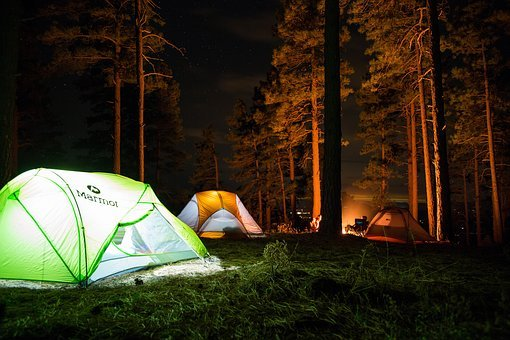 Camp, Outdoor, Travel, Adventure, Tent, Woods, Forest