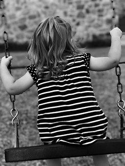 Swing, Child, Children's Games, Fun, Happy, Little Girl