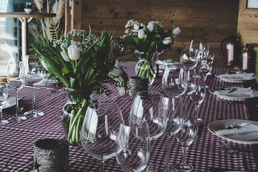 Table, Plate, Utensils, Fine Dining, Lunch, Meeting