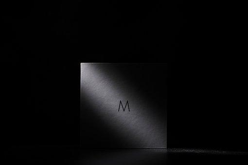 Dark, Night, Light, Shadow, M, Corner, Black And White