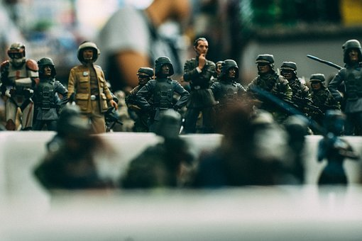 Toy, Soldier, Military, Fight, Battle