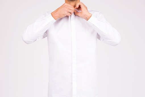 Guy, Man, White, Grooming, Sleeve, Buttons, People