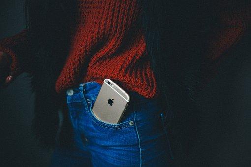 Phone, Cellphone, Apple, Iphone