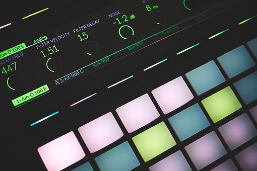Lights, Sound, Electronic, Technology, Audio, Equipment
