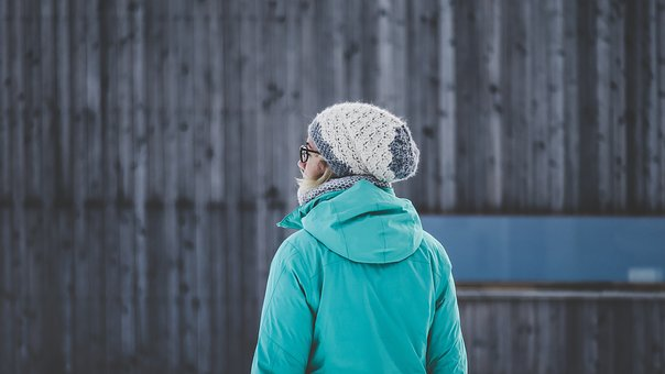 People, Cold, Weather, Bonnet, Jacket, Bamboo
