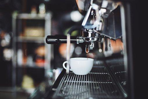Coffee, Cafe, Wood, Hot, Mug, Cup, White, Coffeemaker