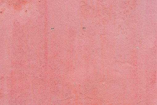 Wall, Paint, Pink, Simple, Crack