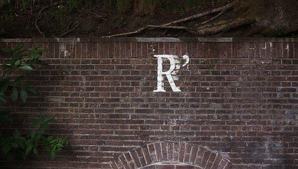 R, Wall, Brick, Paint, Graffiti, Street, Art, Painting