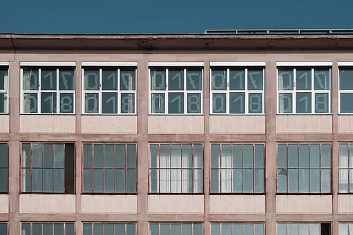 Windows, Panes, Glass, Wooden, Building, Number, Rooms