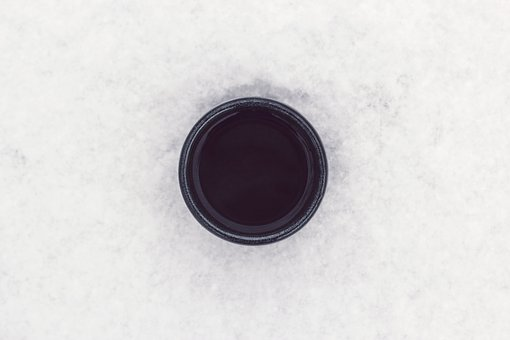 Black, White, Round, Coffee, Cup, Circle