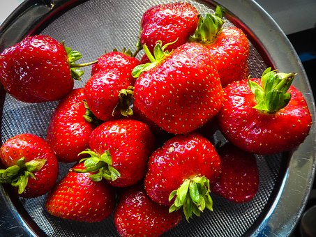Strawberries, Fruit, Strawberry, Berry, Red, Juicy