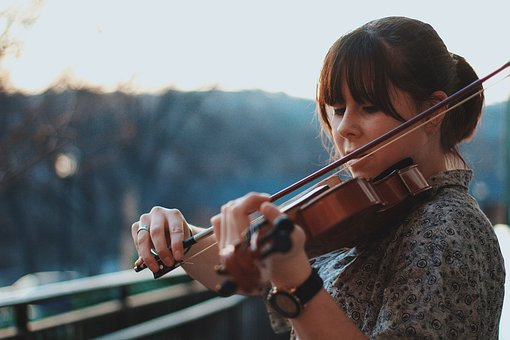 People, Woman, Music, Sound, Instrument, String, Violin