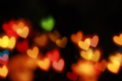 Bokeh, Lights, Night, Dark, Photography, Christmas