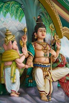 Sculpture, Temple, Religion, Cambodia, Travel, God