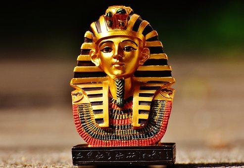 Statue, Egypt, Fig, Egyptian, Pharaonic, Head