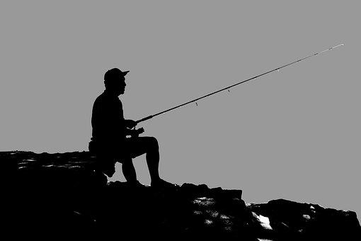 Fisherman, Man, Fishing, Water, Sport, Rod, River