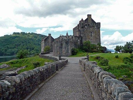 Eilean Donan Castle, Castle, Scotland, Masonry