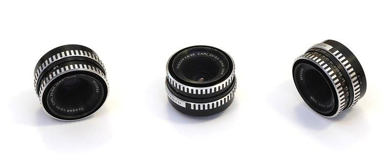 Carl Zeiss, Tessar 50, Digital, Camera, Photo, Lens