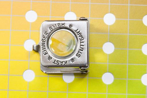 Magnifying Glass, Thread Counters, Printing Inks, Grid