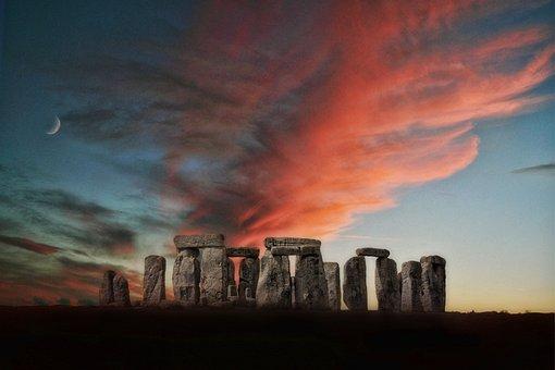 Stone Henge, Stonehenge, Mon, Stone, Henge, Prehistoric