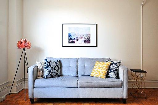 House, Interior, Design, Couch, Sofa, Wall, Floor