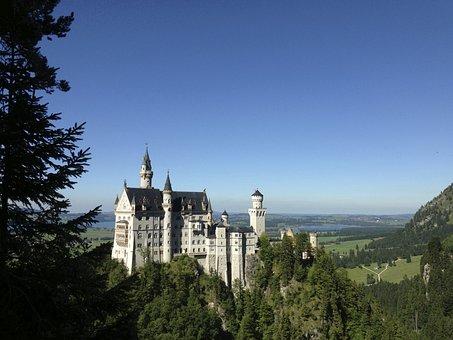 Castle, Kristin, Fairy Castle, Neuschwanstein Castle