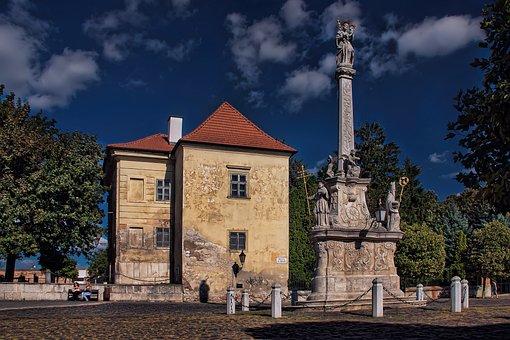 Slovakia, Trnava, The Square Of St, Nicholas