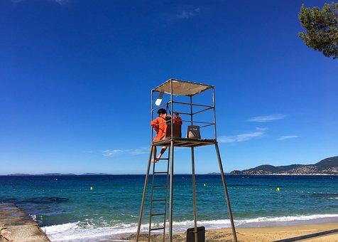 Côte D ' Azur, La Croix Valmer, Summer, Holiday, Beach