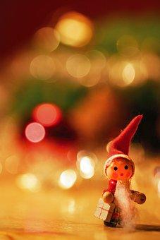 Toy, Christmas, Holidays, Tree, Santa Claus, Gifts