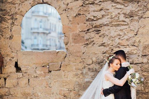 People, Couple, Bride, Groom, Guy, Man, Woman, Girl