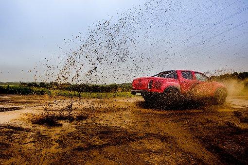 Car, Transportation, Adventure, Dirt, Mud