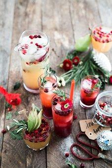 Drink, Beverage, Fruit, Juice, Home, Made, Wooden
