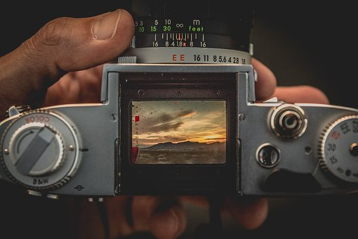 Camera, Lens, Shutter, Button, Photography, View