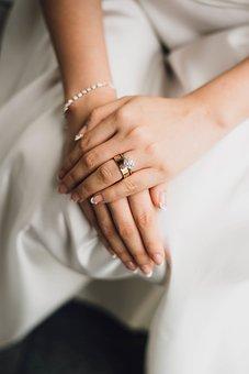 Wedding, Ring, Proposal, Marriage, Couple, Dress, Bride