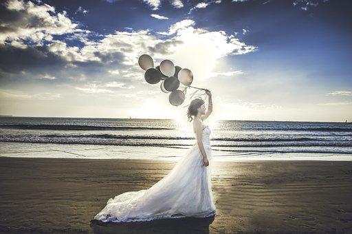 Bride, Mariage, Dress