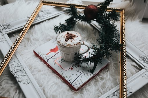 Coffee, Cappuccino, Art, Steamed, Milk, Cup, Saucer