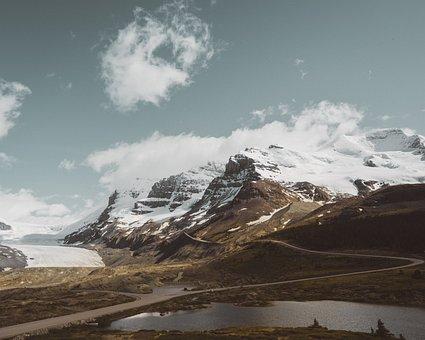 Lake, Water, Mountain, Hill, Summit, Valley, Highland