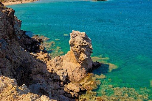 Greece, Crete, The Stones, Landscapes, Holidays, Sea
