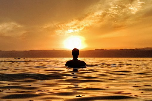 Sea, Ocean, Water, Wave, Nature, Horizon, People