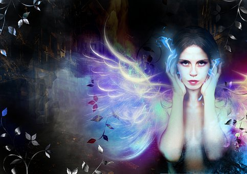 Wings, Fire, Hot, Red, Swirls, Magic, Myth, Phoenix