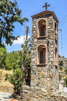 Belfry, Church, Old, Stone Built, Architecture