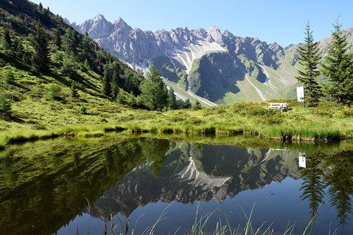 South Tyrol, Alpine, Pflersch, Ladurns, Rock, Hiking