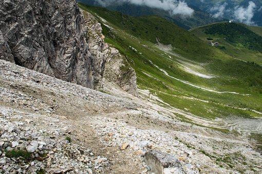 Rock, Hiking, Mountaineering, South Tyrol, Forest